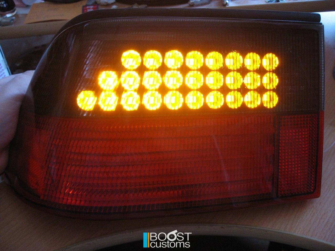 SAAB 9000 custom LED tail lights