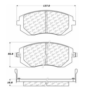 Stop Tech / Power Slot 105.09290 Brake pad set