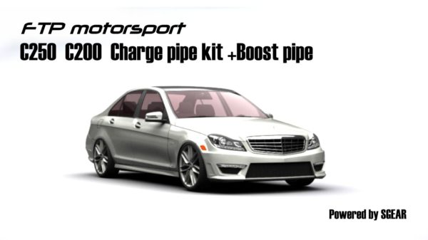 FTP Mercedes-Benz W204 C250 CHARGE PIPE KIT