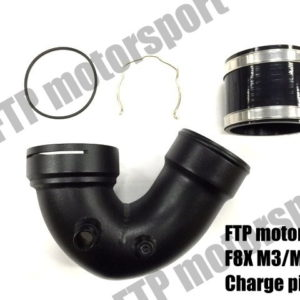 FTP F8X M3/M4 U type charge pipe (cold side J pipe)