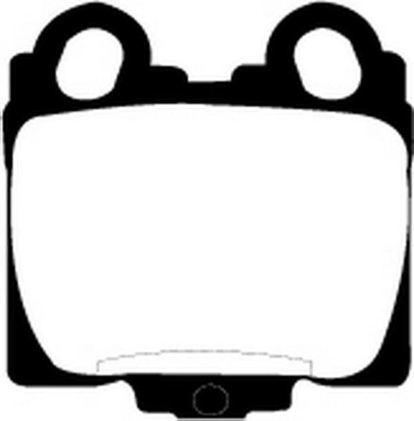 EBC Brakes DP21224 Brake pad set