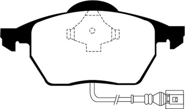 EBC Brakes DP21330 Brake pad set