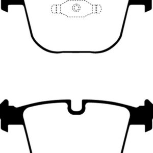 EBC Brakes DP21451 Brake pad set